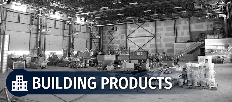 Building Products at Excel-7 Ltd. | Brandon, MB