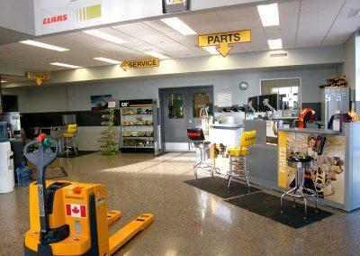 Toromont CAT   Brandon, Manitoba   Built by Excel-7 Ltd.